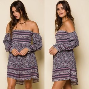 RAGA Sydney Off The Shoulder Mini Dress
